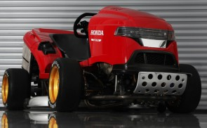 Honda is building a 150mph lawn mower.